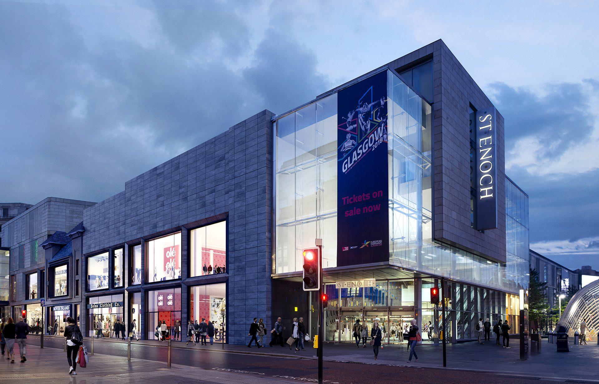 Shopping Centre Development | St. Enoch Glasgow | Sovereign Centros