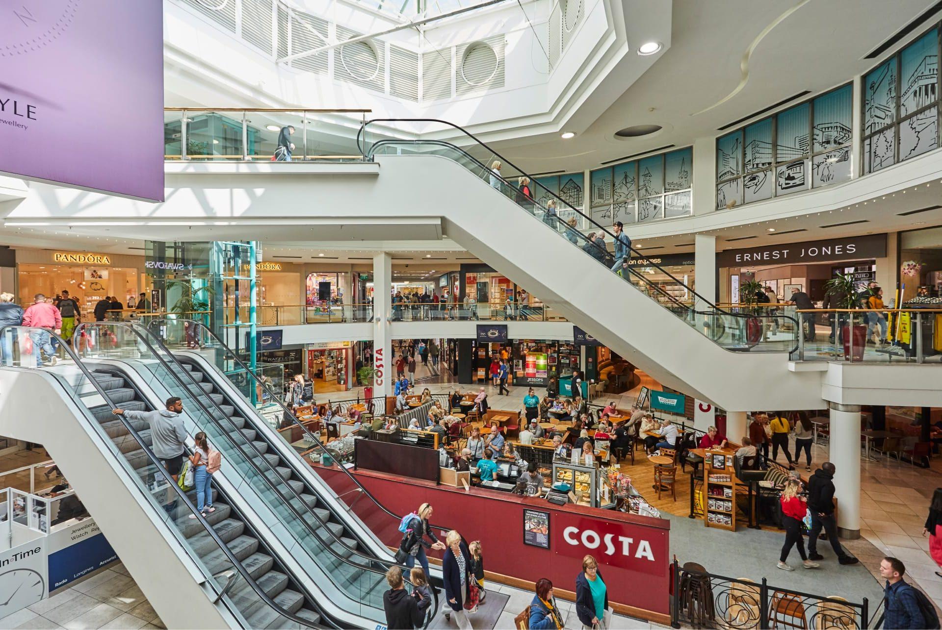 Shopping Centre Development | St George's, Preston | Sovereign Centros