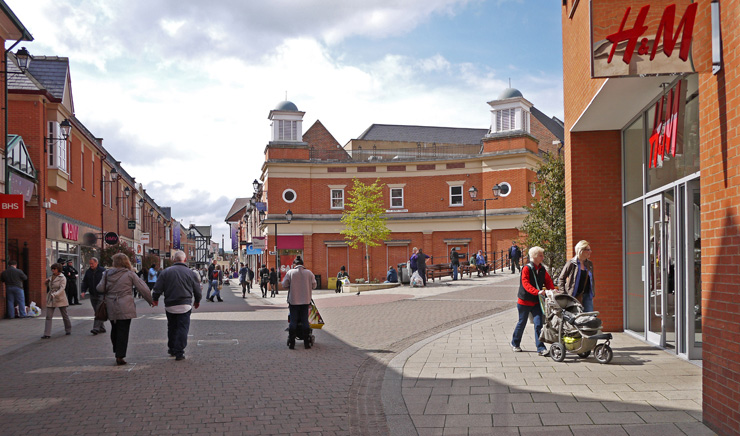Retail Repositioning | Vicar Lane, Chesterfield | Sovereign Centros